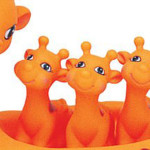 Giraffe Bath Toys