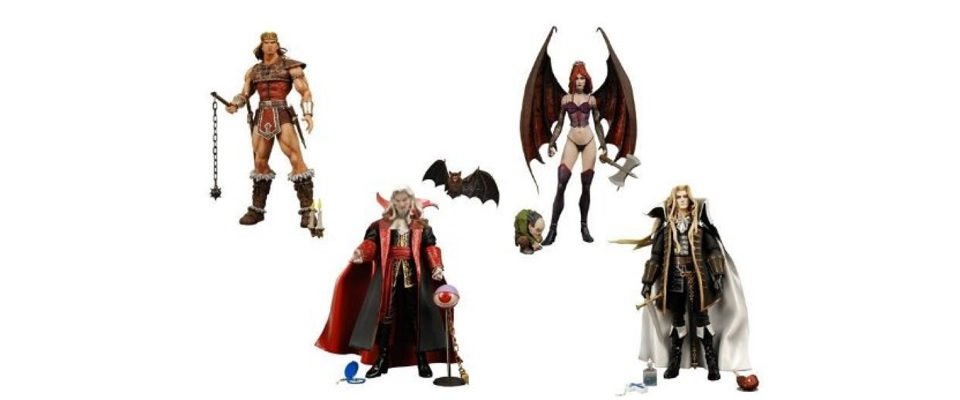 Castlevania Action Figures Toy Time Treasures Toy Time