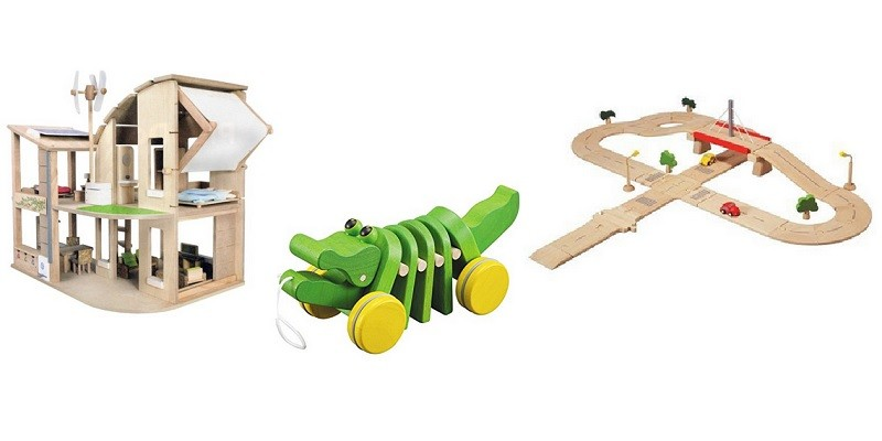 Earth Friendly Wooden Toys