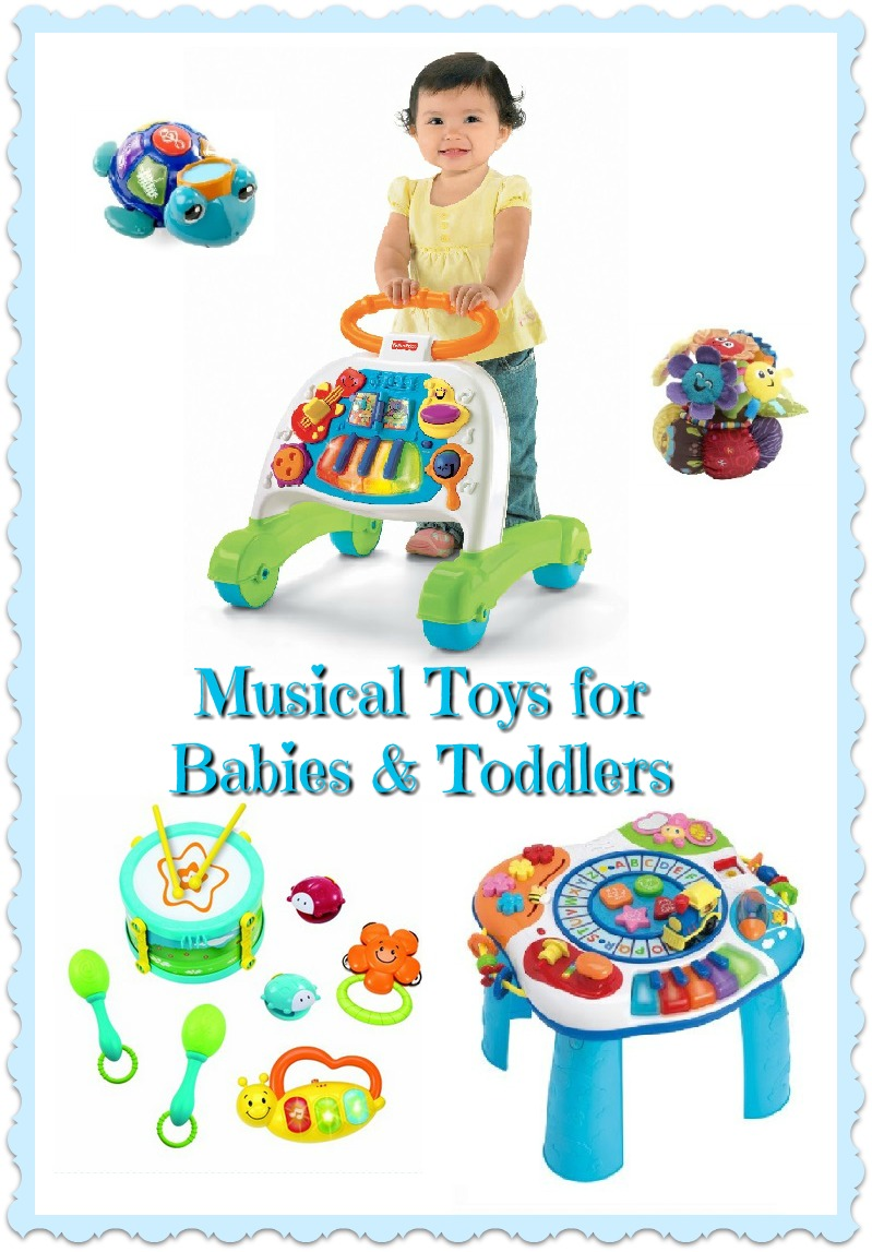 Toys For Toddlers : Musical toys for babies and toddlers toy time treasures