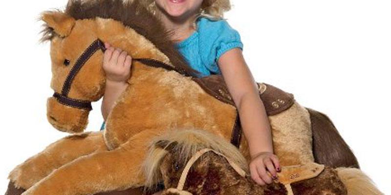 Snugglable Large Plush Horses