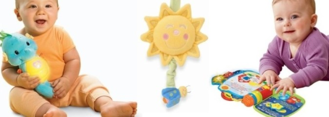 Light-Up Toys for Babies and Toddlers
