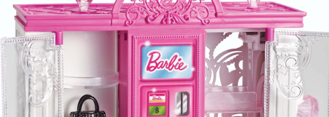 Barbie Life in the Dreamhouse Fashion Vending Machine Toy