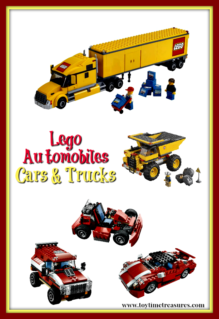 Cars Legos & Trucks Lego Sets
