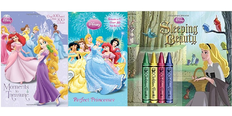 Disney Princess Coloring Books And Crayons