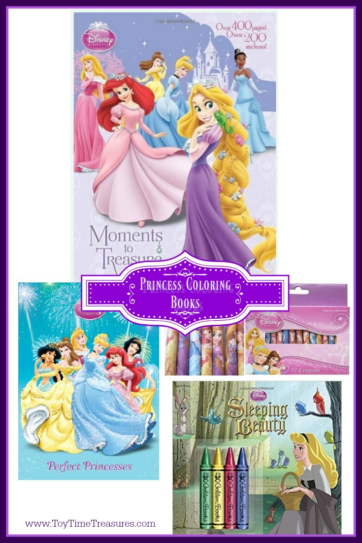 Disney Princess Coloring Books
