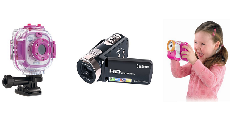 Video Cameras for Kids – Electronic Camcorders