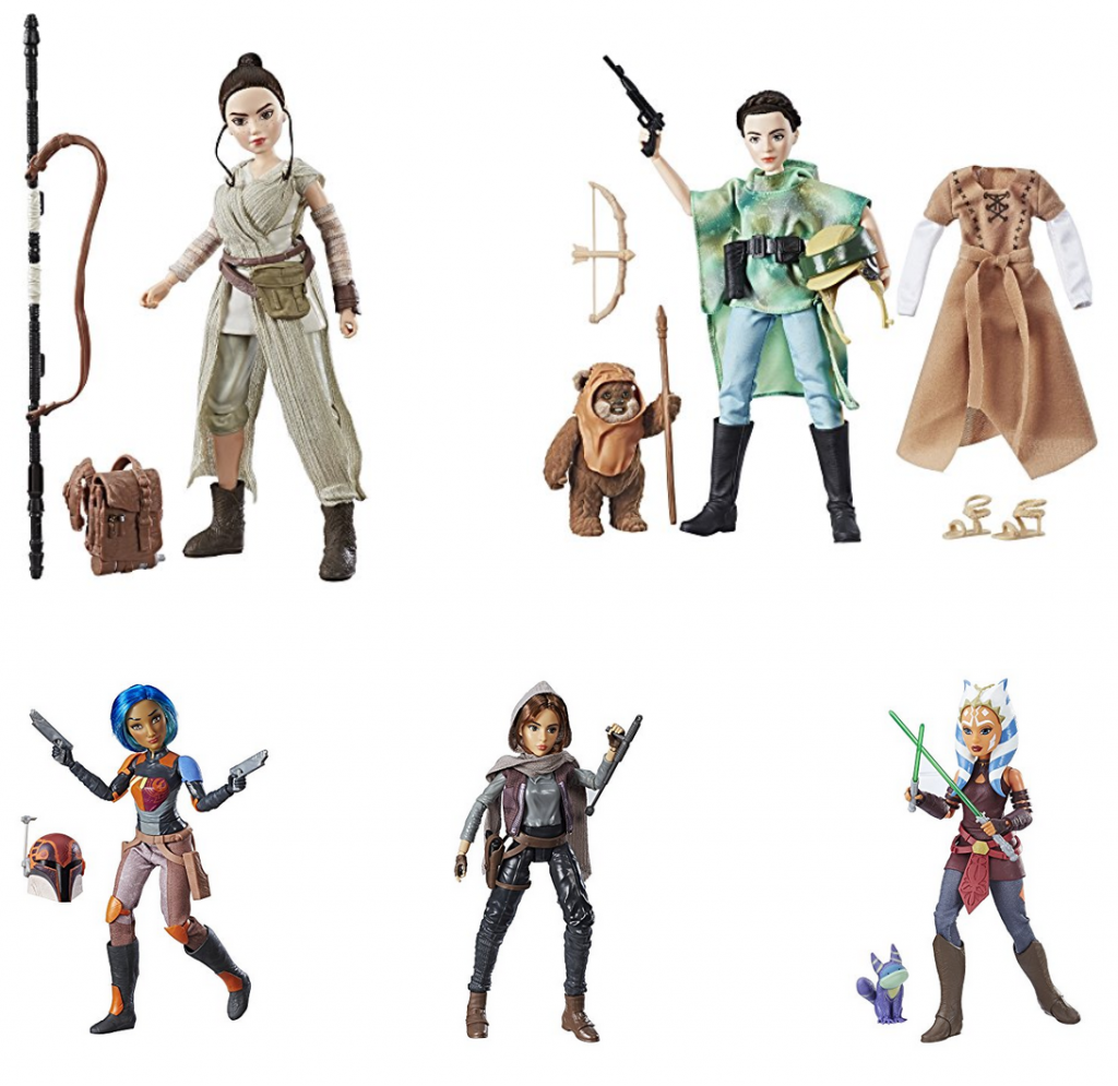 Star Wars Poseable Female Action Figures